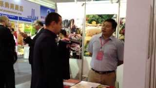 preview picture of video 'Polish Snail Holding:  Agro-Trade Hefei 2013'