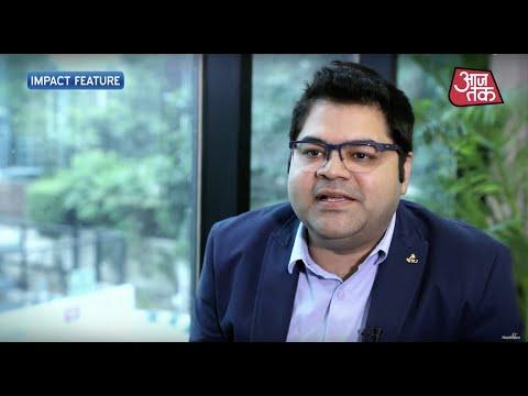 Healthians on Aajtak news channel.