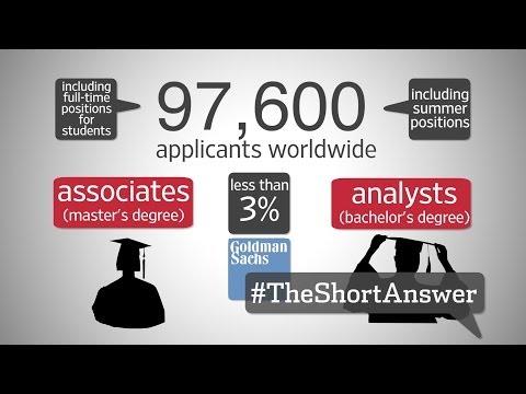 Goldman Sachs Jobs: How Graduates Get Hired