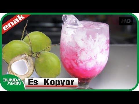 Video Cara Membuat Es Kopyor - Resep Minuman Es Segar - Kuliner Indonesia - Bunda Airin