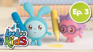BabyRiki EP 3: Drawing Pictures - Cartoons for Children | LooLoo Kids