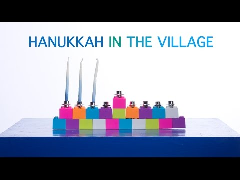 "Rachael Sage -- ""Hanukkah In The Village"" (LYRIC VIDEO)..."
