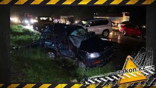 В жутком ДТП на трассе Алматы-Бишкек скончался водитель