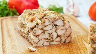 Домашний куриный рулет - Рецепты от Со Вкусом