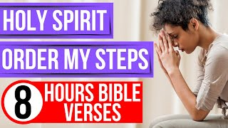 Bible verses for sleep: lead me Lord & direct my steps scriptures