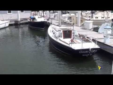 "SOLD!!! Alerion 28 ""Good News"" Sailboat for sale at Little Yacht Sales, Kemah Texas"
