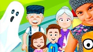 Смешное ВИДЕО ДЛЯ ДЕТЕЙ Новый мультик симулятор семьи детская игра My Town