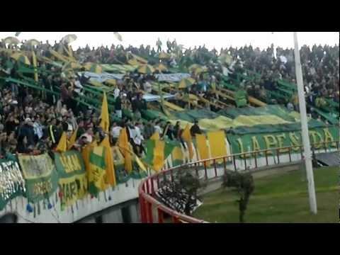 """""""Aldosivi - Huracan 12-08-2012 (04)"""" Barra: La Pesada del Puerto • Club: Aldosivi"""