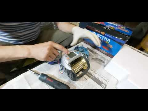 WFT ELECTRA 1200PA ремонт электрокатушки
