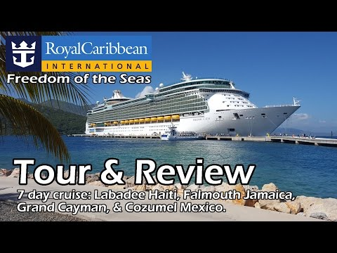 Royal Caribbean Freedom of the Seas Tour & Review