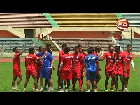 ৩৬ সদস্যের বাংলাদেশ ফুটবলের প্রাথমিক দল ঘোষণা