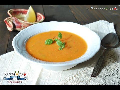 0 Supă condimentată de morcovi și linte