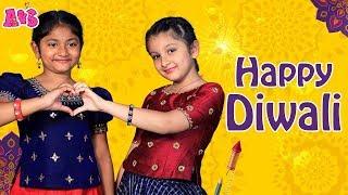 Diwali Special Rangoli by Aadya and Sitara | #HappyDiwali2019 | Aadya & Sitara