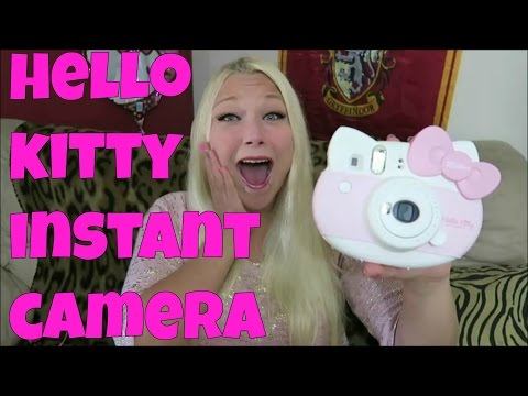 Instax Mini Hello Kitty Polaroid Camera! Limited Edition! | Tia Michelle