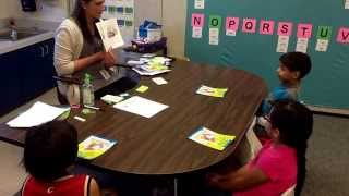 Kindergarten Guided Reading Day 1