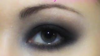 Black Smokey (smoky) Eyes, видео-инструкция по макияжу глаз (переозвученная)