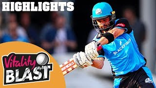 Callum Ferguson Batting Masterclass! | Notts v Worcestershire | Vitality Blast 2018 - Highlights