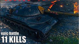 ЖЕСТЬ на ИС-7 вот как играть в World of Tanks 🌟 ЛБЗ тт-15 на Об. 260 🌟 лучший бой на тт 10 уровень