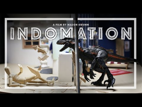 INDOMATION - A stop-motion animated short film