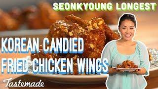 Korean Candied Fried Chicken Wings I Seonkyoung Longest