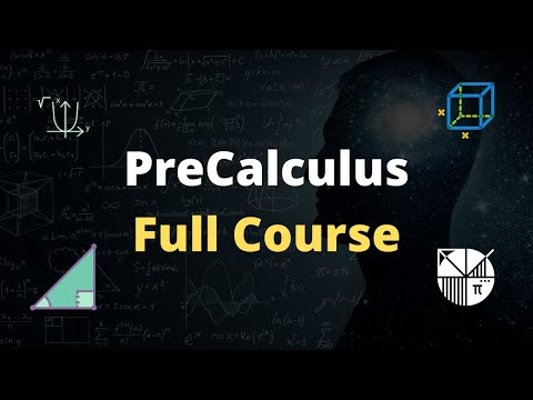 PreCalculus Full Course For Beginners - YouTube