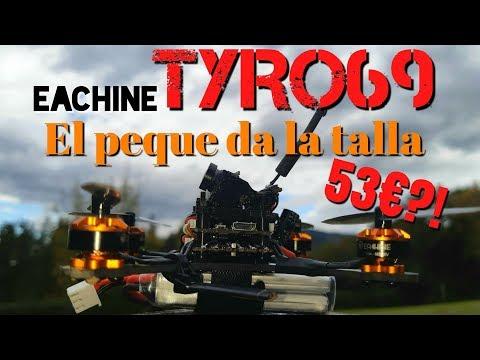 TYRO69: EL TOOTHPICK MÁS BARATO de 53€, ¿VOLARÁ? (Unboxing+montaje+prueba)