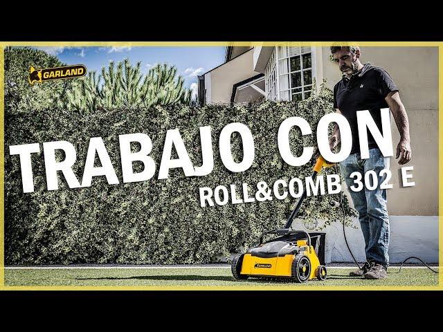Video BARREDORA CESPED ELECTRICA GARLAND ROLL&COMB 302 E-V19