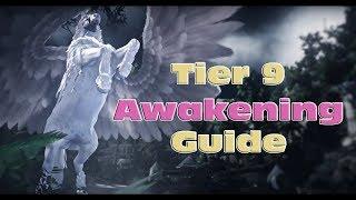 BDO - Tier 9 Awakening Guide - What You Need