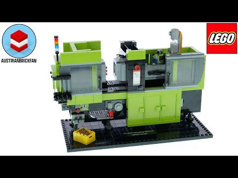 Vidéo LEGO Objets divers 40502 : The Brick Moulding Machine