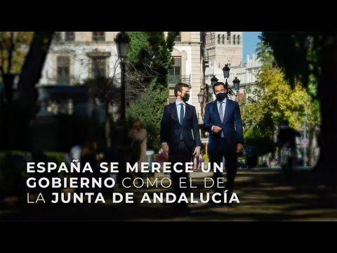 España merece un gobierno como el de la Junta de A...