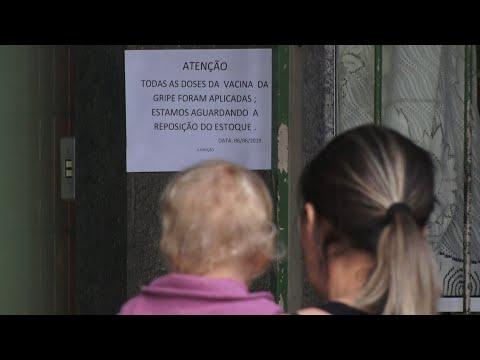 Postos de Nova Friburgo continuam sem vacinas contra a gripe nesta segunda