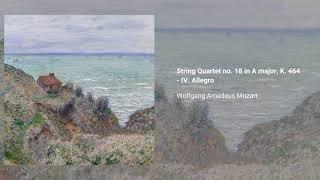 String Quartet no. 18 in A major, K. 464
