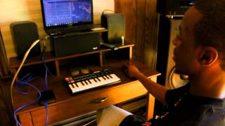 "Making of Rich Homie Quan ""Type of Way"" Beat Prod. by @YungCarter2058"