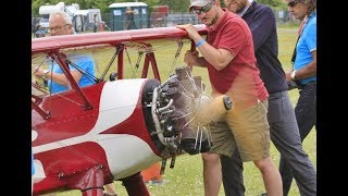 GIANT 55% SCALE  RC BOEING STEARMAN - VALACH 7 CYL 800cc RADIAL - LUDO AT WINGS & WHEELS - 2017