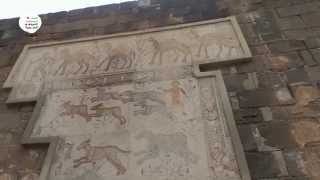 preview picture of video 'Bosra Damage assessment of the Mosaïcs Roman Theatre بصرى الاضرار الفسيفساء في المسرح الروماني'