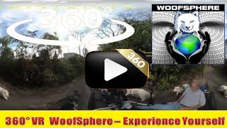 360 Videos |  Buffalo Valley Rail Trail  | Virtual Reality | Woofsphere