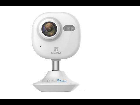 EZVIZ Mini+ (Plus) Alexa Amazon Echo Enabled 1080p WiFi Surveillance Camera Review