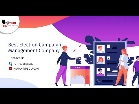 Political/Election Campaign Management Company In India.