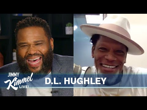 Guest Host Anthony Anderson Interviews D.L. Hughley – Getting COVID-19 & Collapsing on Stage