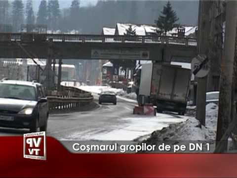 Coşmarul gropilor de pe DN1