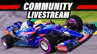 F1 2017 Livestream: Online Community-Rennen (PC) | Deutsch