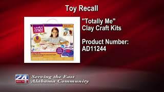 Toys 'R' Us Recalling Clay Craft Kits