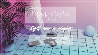 [ Rap - K-hip hop/ K-pop mix | 1 hour playlist ]