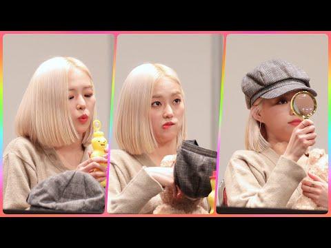 [4K] CLC 예은 직캠 (Crystal Clear) - 사인마무리 놀기 @팬사인회/190202/Fanca…