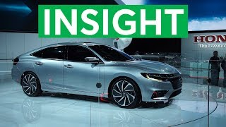 2018 Detroit Auto Show: 2019 Honda Insight Promises Big Fuel Economy | Consumer Reports