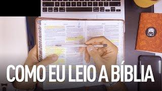 COMO EU LEIO A BÍBLIA - Douglas Gonçalves