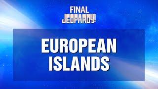 Jeopardy! First: Tiebreaker   JEOPARDY!