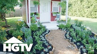 Tips For Landscaping Around A Shed - HGTV