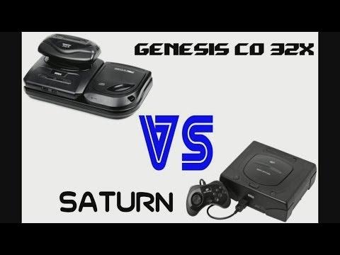 Gamerade - Power of Genesis 32X Sega CD VS Sega Saturn - Adam Koralik