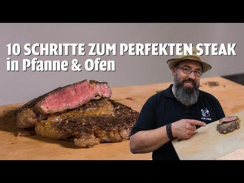 DON CARNE | 10 Schritte zum perfekten Steak in Pfanne & Ofen